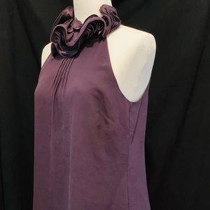 Ann Taylor top, purple dressy